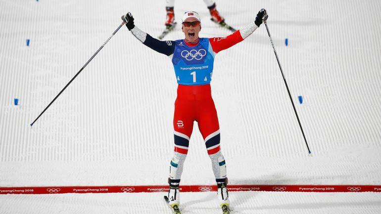 RTBF, La Norvégienne Björgen rejoint Björndalen comme athlète le plus médaillé des JO d'hiver