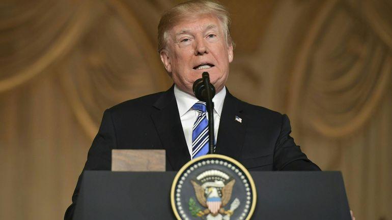 Donald Trump espère voir les deux Corées \