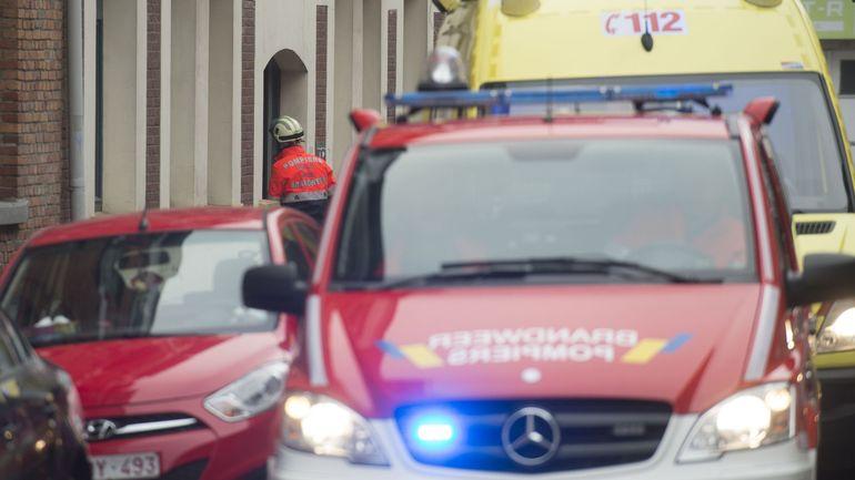Une mère et ses deux enfants sauvés d'un incendie à Bruxelles