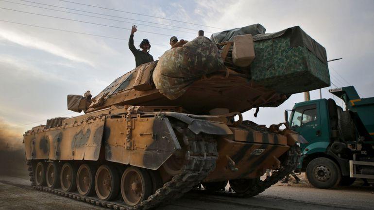 L'Allemagne et la France suspendent les exportations d'armes vers la Turquie: et la Belgique?