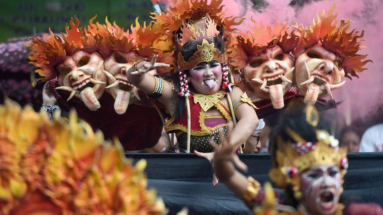 """Le """"Nyepi"""", le nouvel An balinais, est célébré dans le silence, sans internet ni électricité"""