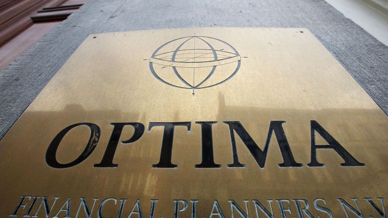 En raison de la faillite de la banque Optima, le