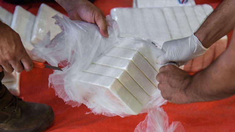 Déjà 4,8 tonnes de cocaïne saisies à destination de la Belgique en 2020 selon l'ONU