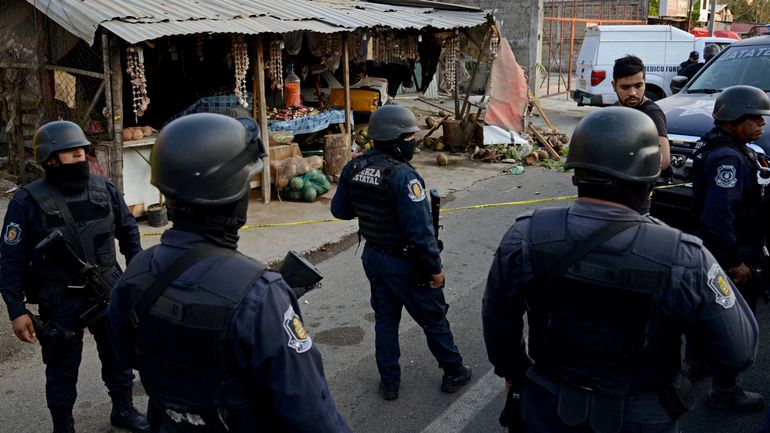 Mexique: 185 policiers suspendus, suspectés de liens avec le crime organisé