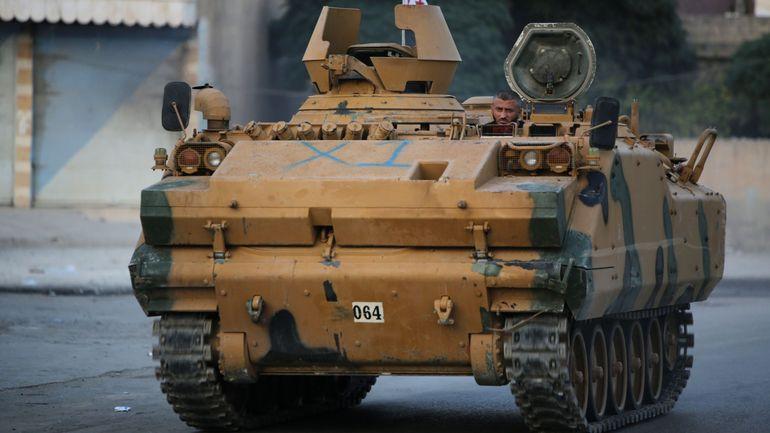 Offensive turque en Syrie: un soldat turc tué dans une attaque des forces kurdes malgré la trêve