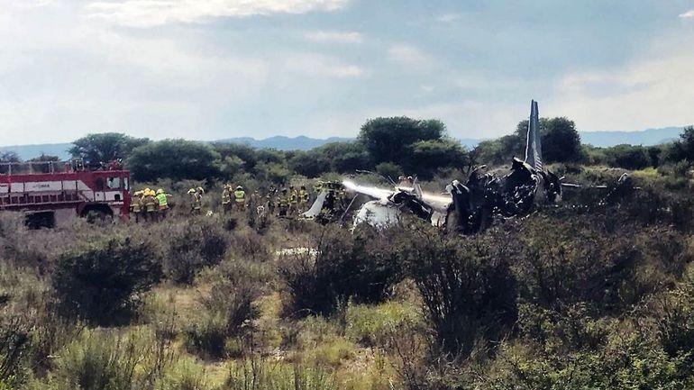 Mexique: un avion de ligne s'écrase après le décollage, des blessés mais pas de morts