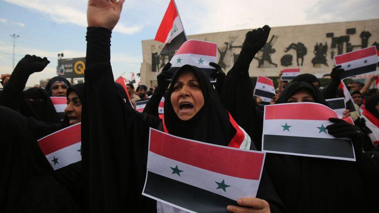 Irak: deux manifestants tués, après un rassemblement antiaméricain