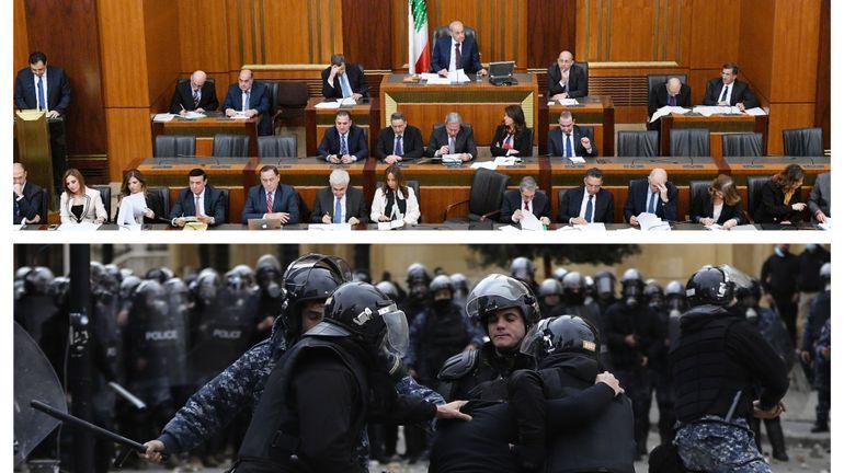 Liban: malgré l'opposition de la rue, le gouvernement obtient la confiance du Parlement