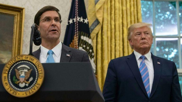 Qui est Mark Esper, le nouveau ministre de la Défense des Etats-Unis?