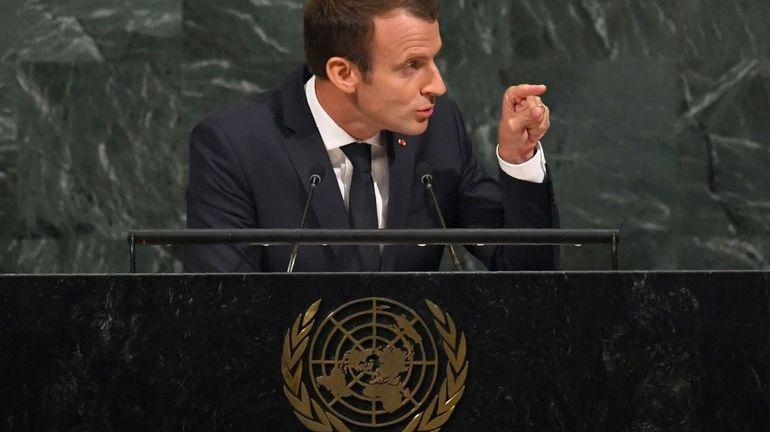 "Climat: ""l'accord de Paris ne sera pas renégocié"", selon Emmanuel Macron"