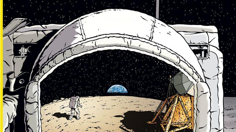 """BD: """"La Conquête De L'Espace"""", il y a cinquante ans, l'homme marchait sur la lune"""