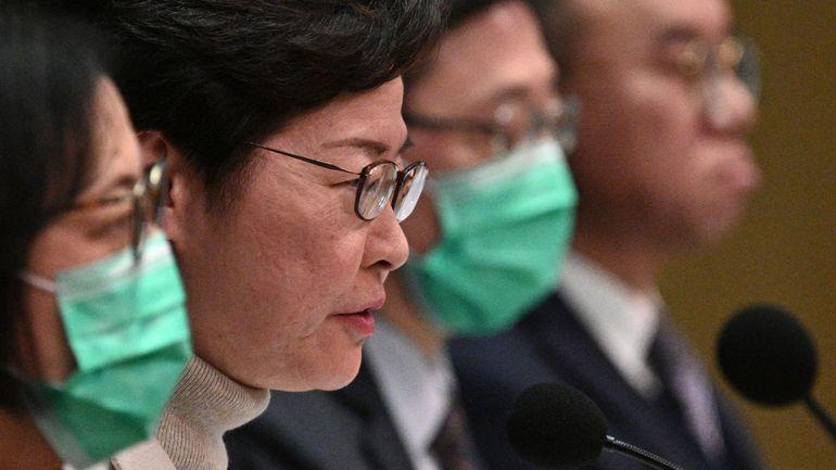 Hong Kong ferme sa frontière avec la Chine pour éviter la propagation du coronavirus