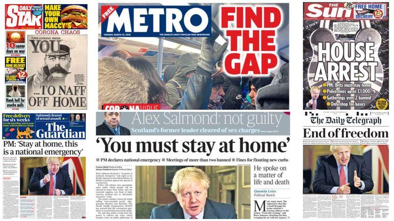 """""""La fin de la liberté"""", """"assignés à résidence"""": le Royaume-Uni découvre à son tour le confinement (revue de presse)"""