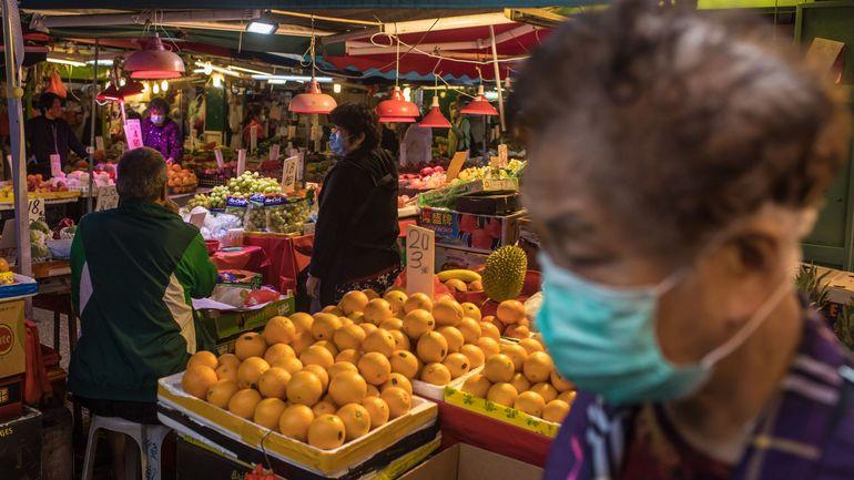 Coronavirus: A Hong Kong, le retour d'une consommation locale