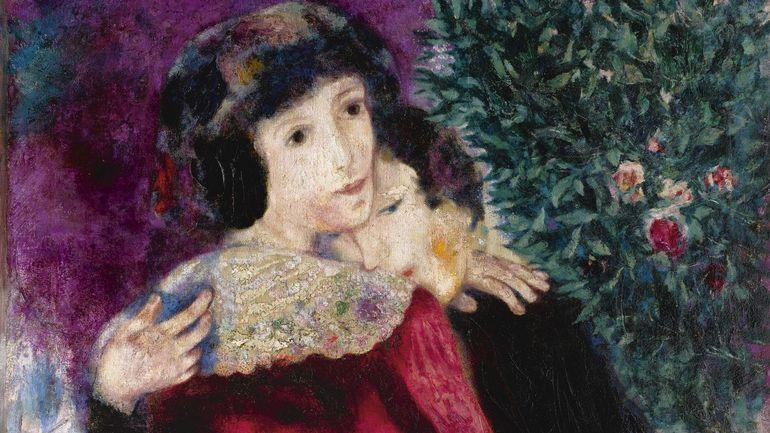 RTBF, Record pour un Chagall: 28,5 millions pour Les Amoureux