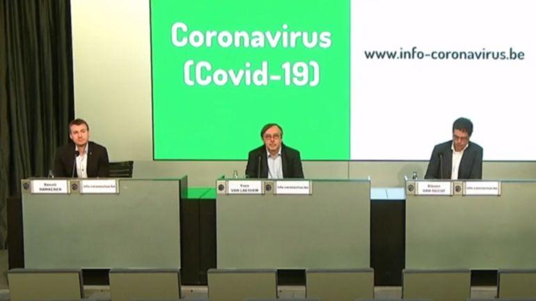 Coronavirus en Belgique: suivez la conférence de presse du centre interfédéral de crise ce lundi 25mai