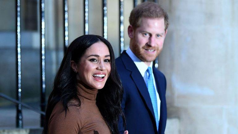 """Couronne britannique et """"Meghxit"""": Harry et Meghan renoncent à leurs titres royaux"""