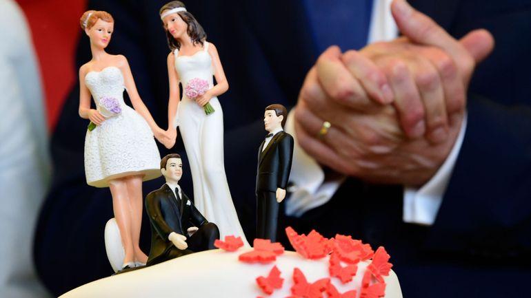 """Il y a 15 ans avait lieu le premier mariage homosexuel à Liège: """"Il reste encore du chemin"""""""