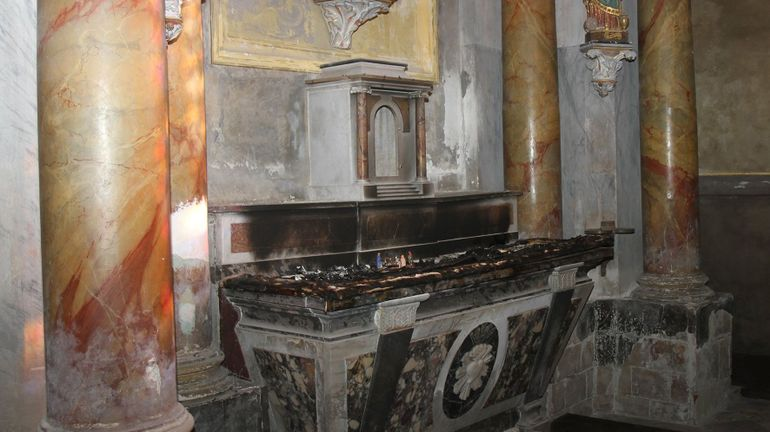 Dégradations dans des églises: en hausse en France, pas en Belgique