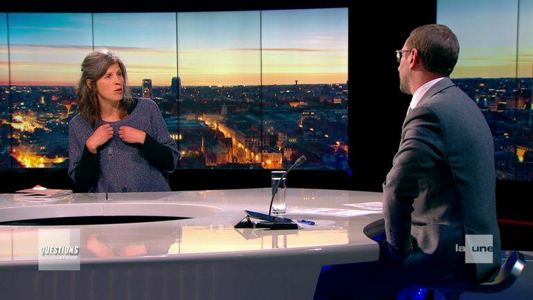 """Coronavirus en Belgique : """"Des pressions, on en a eu de tous côtés"""" affirme Celine Nieuwenhuys, experte membre du GEES"""