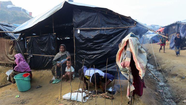Les Rohingyas devront vivre dans des abris temporaires à leur retour en Birmanie