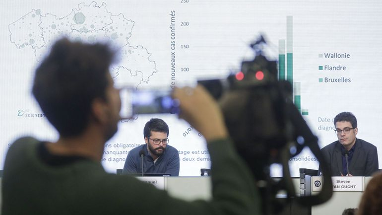 Coronavirus en Belgique: suivez en direct la conférence de presse du centre de crise