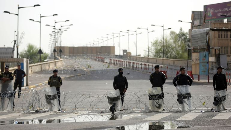 Tensions Irak-Iran-USA: une roquette s'abat près de l'ambassade américaine à Bagdad