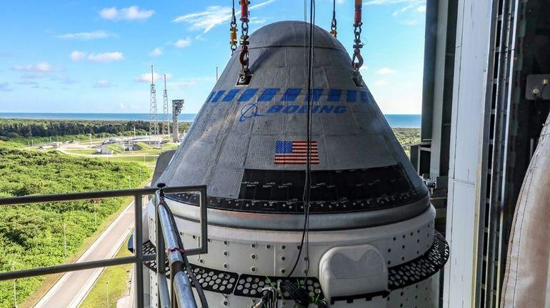 Boeing vise la première moitié de 2022 pour retenter le vol de sa capsule spatiale Starliner