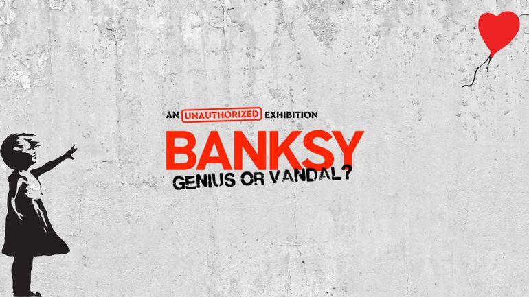 BANKSY débarque au coeur de Bruxelles !